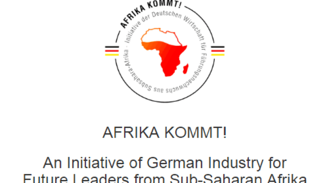 AFRIKA KOMMT! Fellowship Programme for Future Leaders from Africa 2020-2022