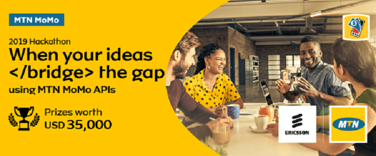 MTN Group 2019 MoMo API Developer Hackathon (USD 7000 in prizes & Funded Trip to Sweden)