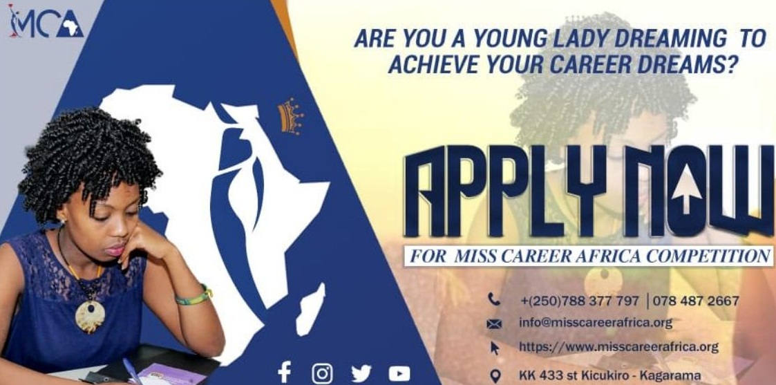 Miss Career Africa Competition for Young Female Professional (Eastern Africa)-2019