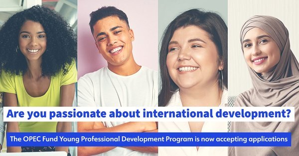 OPEC Fund's Young Professional Development Program (YPDP) Program 2021