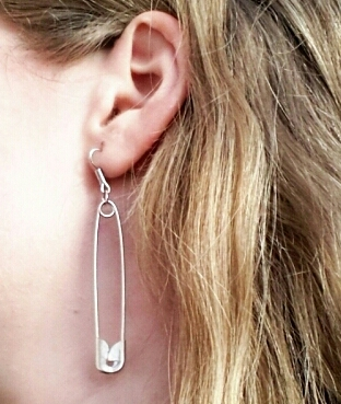 safety pin earrings do
