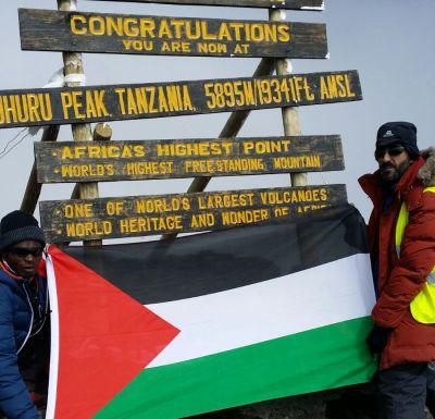 Ovais, Climbing for Palestine