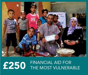 £250 Financial Aid for the most vulnerable