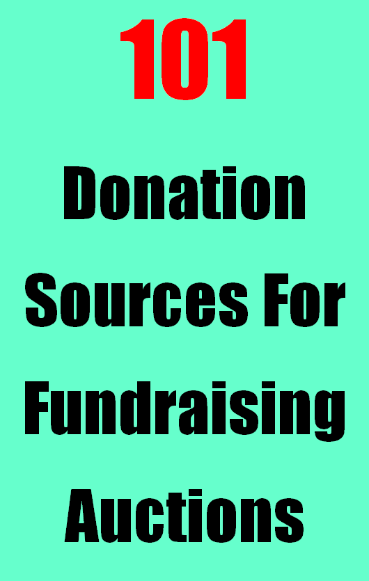 Barnes And Noble Donation Request : barnes, noble, donation, request, Fundraising, Auction, Donations, Sources