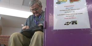 Image of Shoe Shine man Albert Lexie has donated $200,000 to charity care fund at Children's Hospital of Pittsburgh