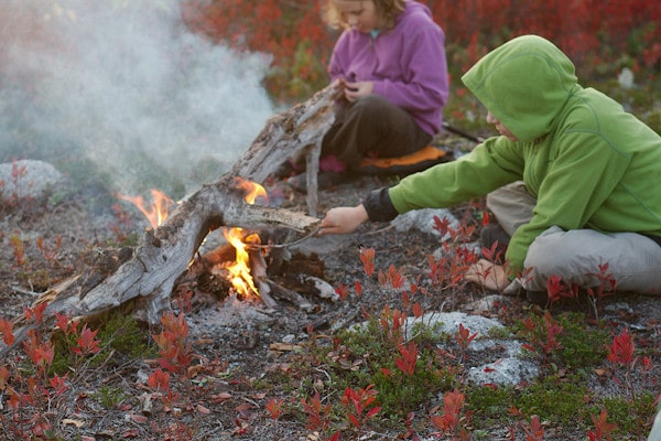 campfire for Beyond our boundaries Kickstarter Crowdfunding success
