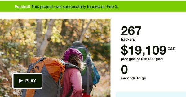 Kickstarter - Beyond our boundaries campaign