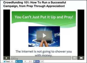 Crowdfunding 101 - how to use Deposit A Gift, Kickstarter, GoFundMe or any platform successfully
