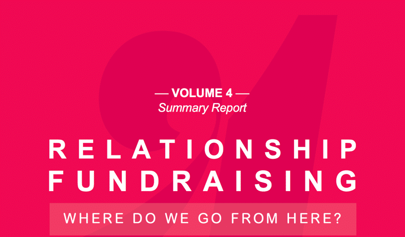 Rogare's Study on Relationship Fundraising
