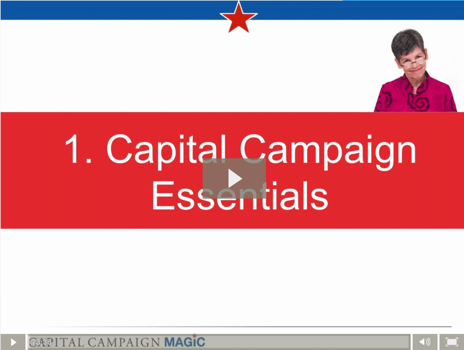 Capital Campaigns 101 with Andrea Kihlstedt