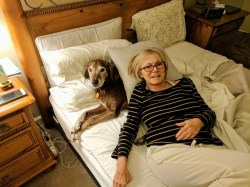 Suzanne and dog