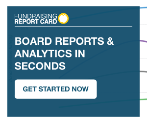 Fundraising Report Card board reports