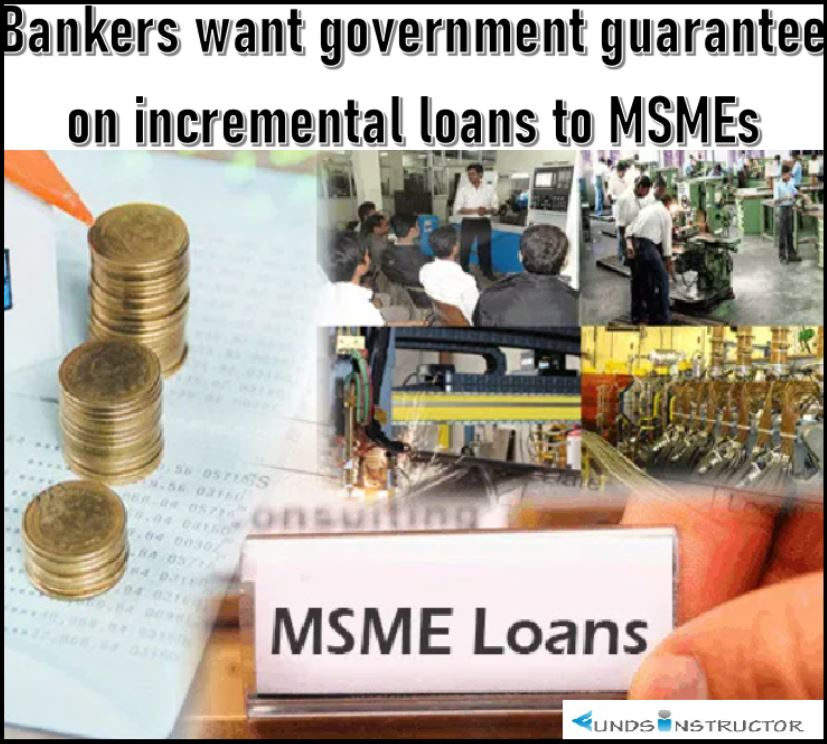 Bankers want govt guarantee on incremental loans to MSMEs