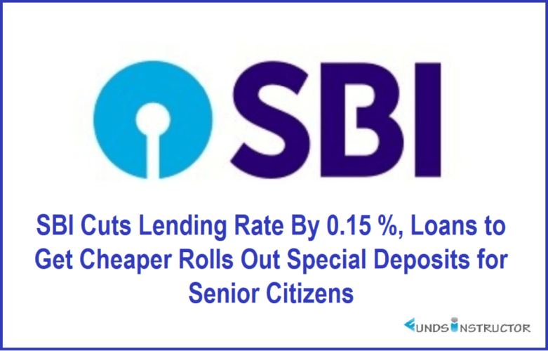 SBI Cuts Lending Rate By 0.15%, Loans to Get Cheaper Rolls Out Special Deposits for Senior Citizens