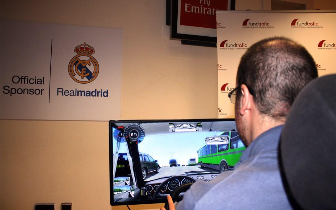 Fundación Real Madrid y Fundtrafic imparten seguridad vial entre sus trabajadores