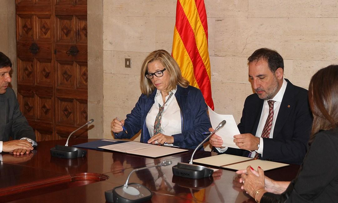 Convenio para que el personal de la Generalitat de Cataluña reciba formación en seguridad vial laboral