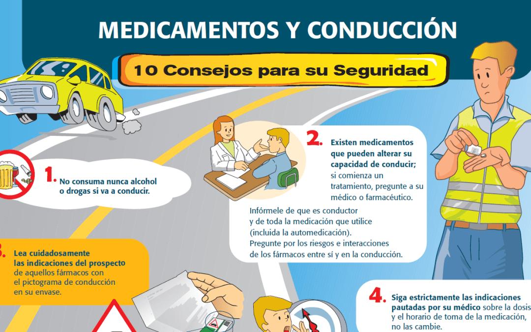 Faes Farma y Fundtrafic: 'Medicamentos y conducción, diez consejos de seguridad'