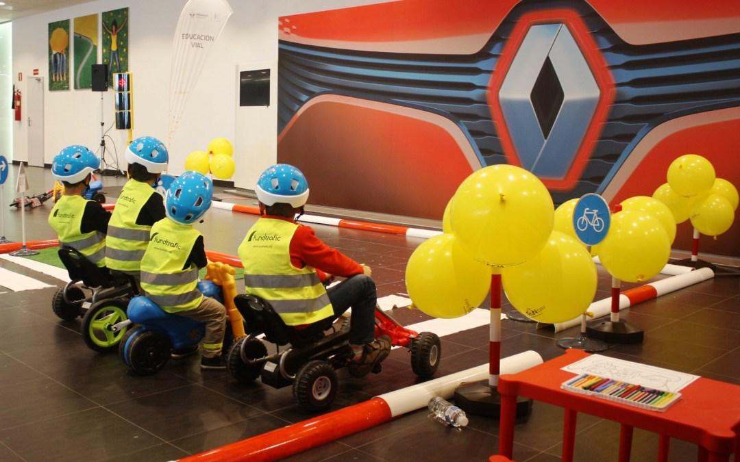 Concienciación vial: parte del éxito del Family Fun Day de Renault