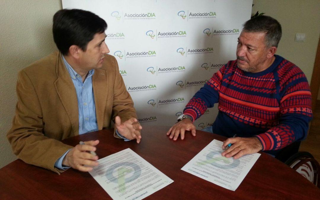 Prevencionar y Asociación DIA de Víctimas de Accidentes firman un acuerdo de colaboración