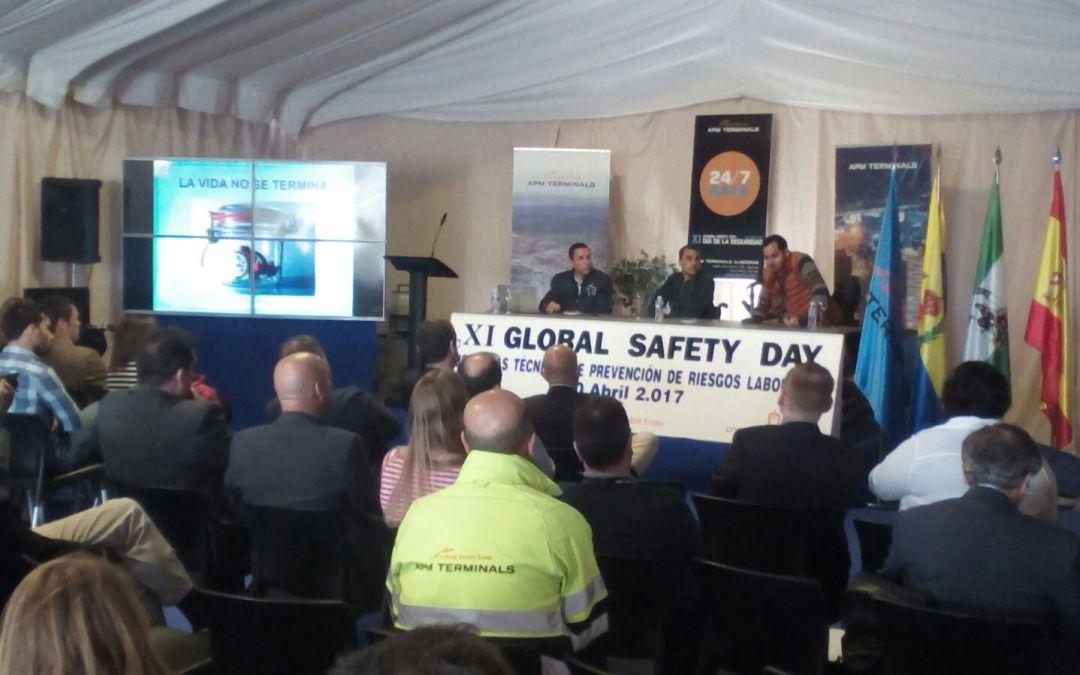 Jornadas de prevención de accidentes para trabajadores de APM Terminals y Galp