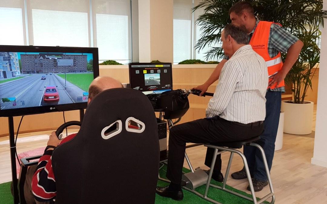 Fundtrafic imparte seguridad vial laboral en las oficinas de Roche