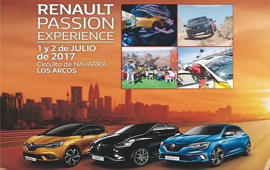 Renault Passion Experience - Navarra - Fundtrafic