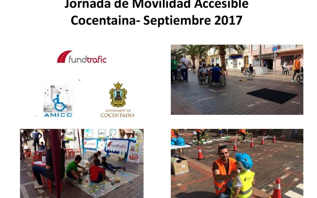 Cocentaina organiza por segundo año la jornada de movilidad accesible