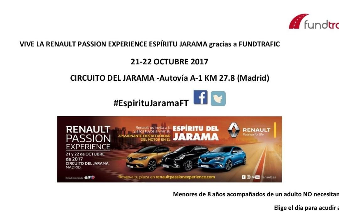 Fundtrafic regala entradas para la Renault Passion Experience de Madrid. ¡Hazte con la tuya!
