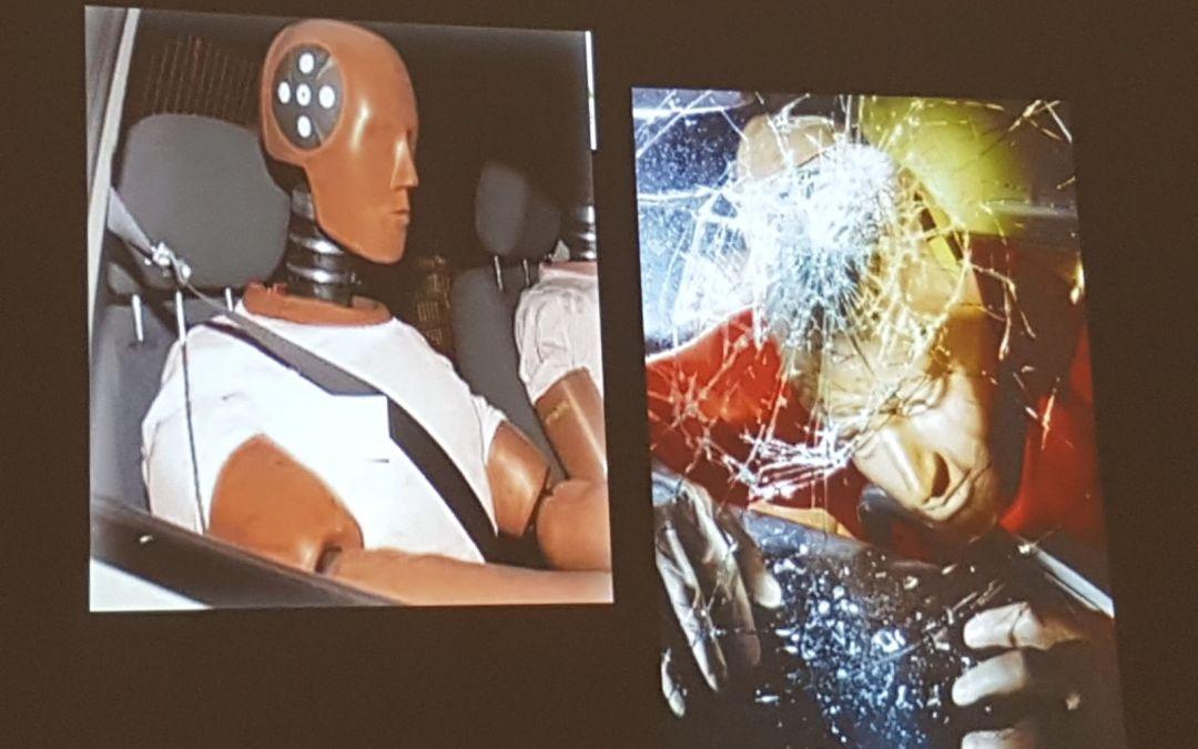 Los responsables de Prevención de Viscofan reciben un curso de conducción segura de la mano de Fundtrafic