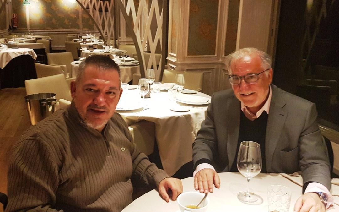 Nueva reunión entre Pere Navarro y Francisco Canes para hablar de la seguridad vial en España