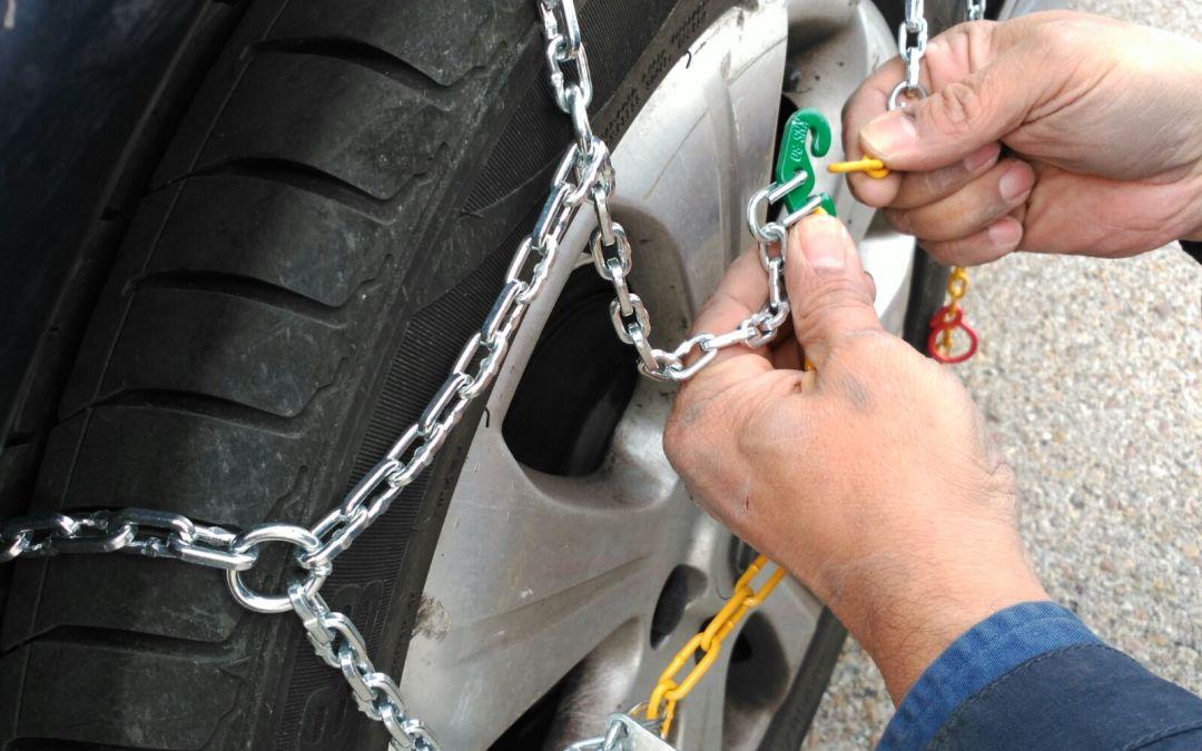 Paso a paso: cómo poner las cadenas y no morir en el intento