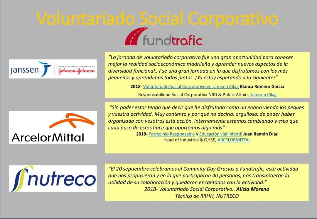 voluntariado social corporativo