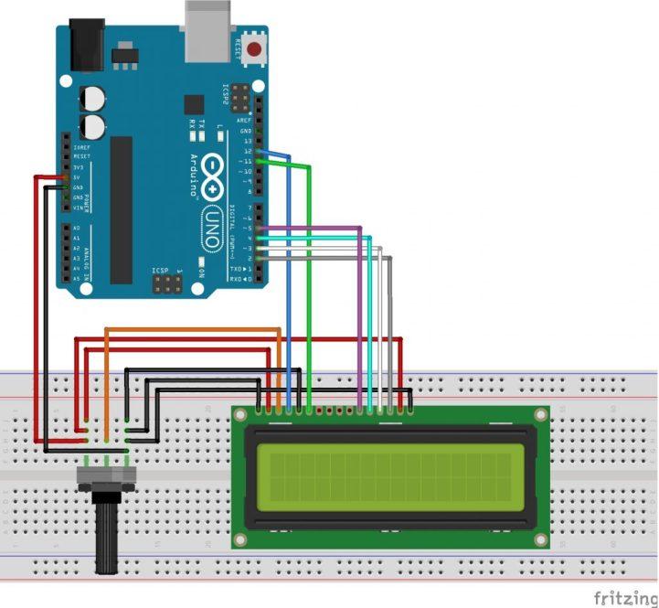 Nr 14 LCD Display   Funduino - Kits und Anleitungen für Arduino