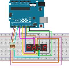 Pin 7 Arduino 83 Virago 500 Wiring Diagram Nr 12 Segment Anzeige