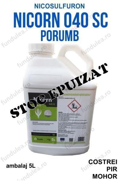 NICORN erbicid porumb nicosulfuron frunza ingusta 5l STOC