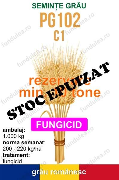 seminte grau PG102 c1 10 tone STOC