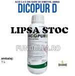 DICOPUR D este un erbicid foarte eficace in combaterea buruienilor dicotiledonate anuale si perene