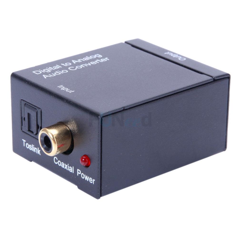 Audio Converter Digital Optical Coax Toslink To Analog Audio Converter