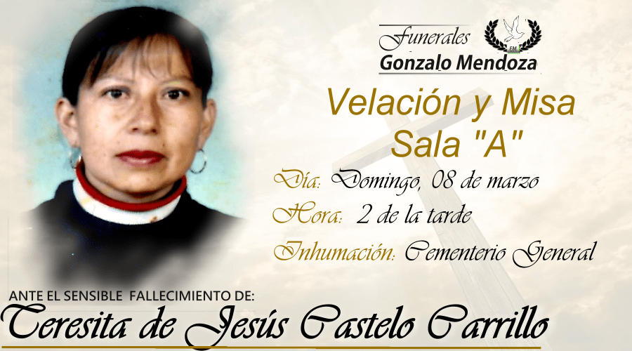 Teresita de Jesús Castelo Carrillo