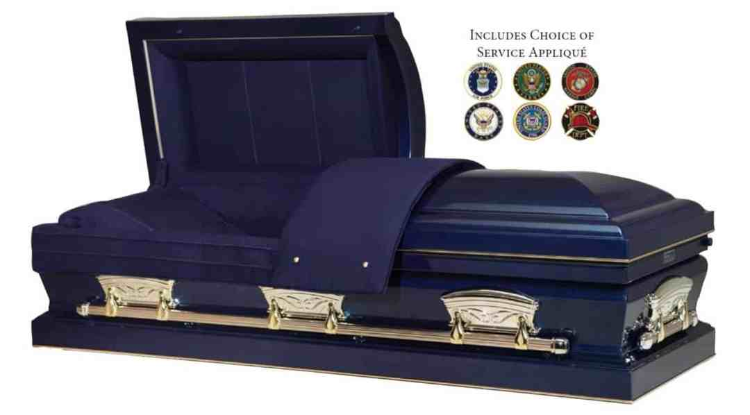Freedom Casket Veteran Burial