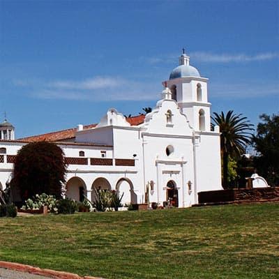 Mission San Luis Rey in Oceanside, CA
