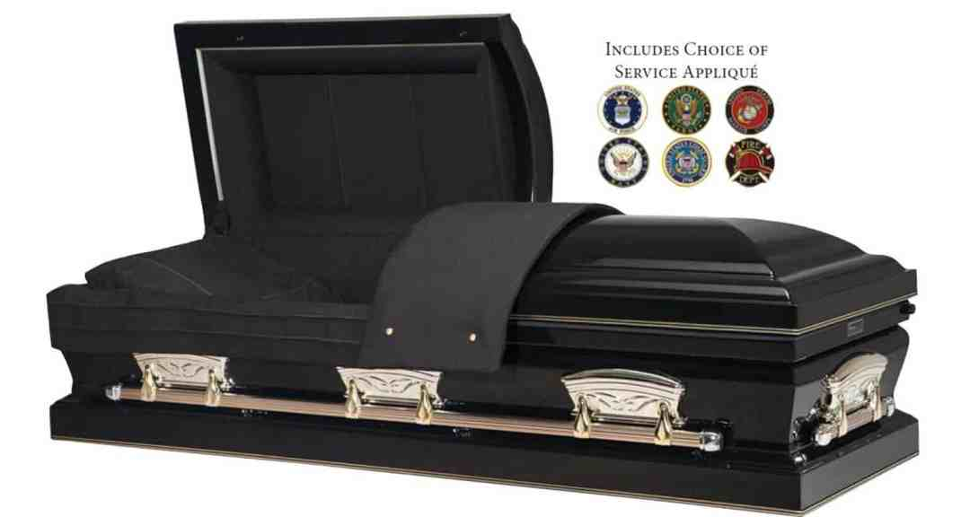 Patriot Casket Veteran Burial