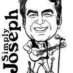 Caricature logo for business cards