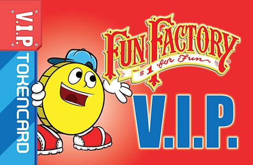 Fun Factory VIP Token Card