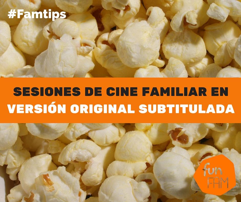 Sesiones de cine en familia
