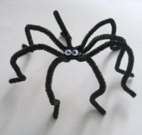 Pipe Cleaner Spiders | Fun Family Crafts