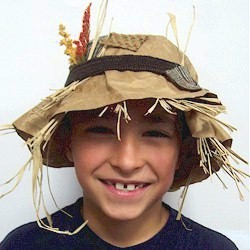 Scarecrow Hat Fun Family Crafts