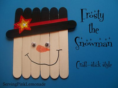 Christmas Craft Stick Projects