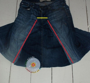 From Jeans To Skirt Fun Family Crafts