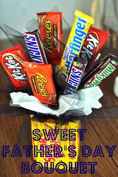 Fathers Day Candy Bouquet Fun Family Crafts
